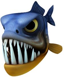 Beware of piranha minnows